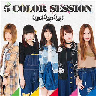 1st mini Album「5 COLOR SESSION」